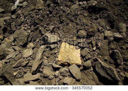 Massive Sulfide Nickel Ore Rock - Australia