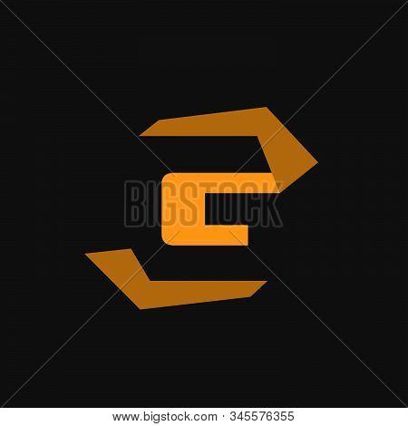 Sporty Initial G Logo Design Vector Graphic Concept Modern Letter G For Technology, Web, Sport, Fitn