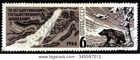 10.24.2019 Divnoe Stavropol Territory Russia Postage Stamp Ussr 1966 50 Years Of The Barguzin State