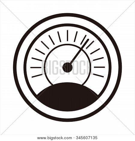 Thermometer Icon, Simple Icon. Vector Icon. Thermometer Icon With A White Background. Thermometer Ic