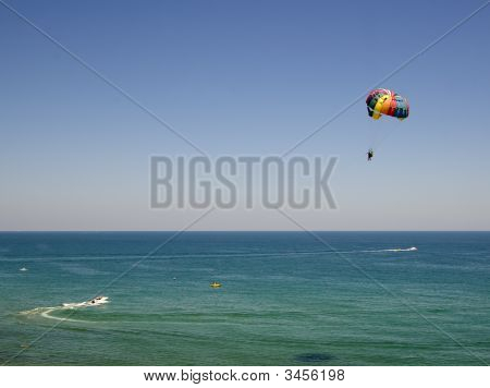 Parasailing On The Black Sea