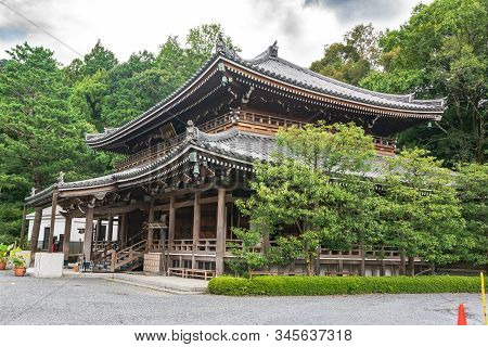 Kyoto, Japan, Asia - September 5, 2019 : The Chion In Temple In Higashiyama District