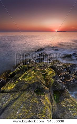 Sunrise In Ireland