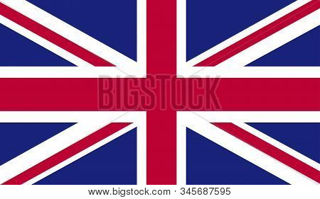 Grunge Uk Flag.vector British Flag. Uk Flag In Grungy Style.vector Union Jack Grunge Flag.