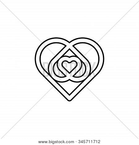 Love icon. Love icon isolated on white background. Love icon eps. Love icon Image. Love icon logo. Love icon sign. Love icon flat. Love icon design. Love icon vector, Love Hearts, Heart symbol vector isolated on white background.