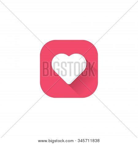 Heart Icon . Simple Heart , Love Logo. Love Icon Sign. Heart Icon Vector, Love Hearts, Heart Icon Ve