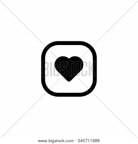 Heart Icon . Simple Heart , Love Logo. Love Icon Sign. Heart Icon Vector, Love Hearts, Heart Icon Ve