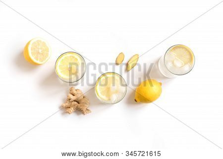 Ginger Drink With Lemon