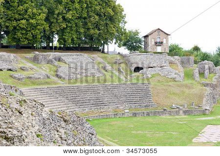 Roman Theatre, Autun, Burgundy, France