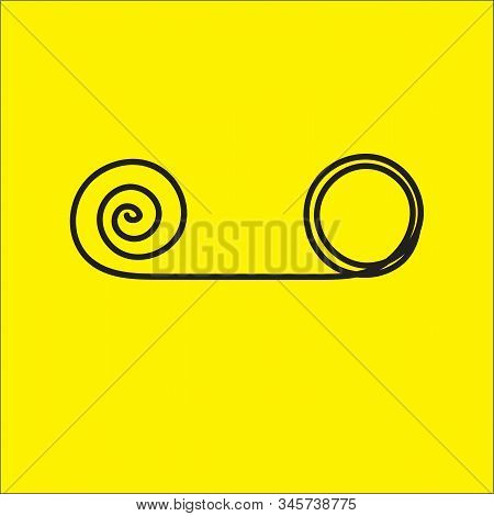 Psychotherapy Abstract Symbol, Tangle And Untangle Knot, Change Icon, Transformation, Evolution Sign