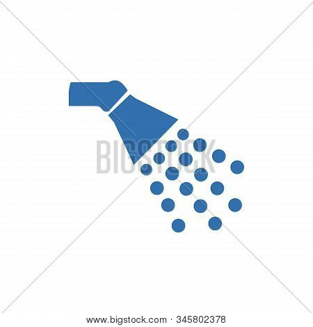 Shower Icon In Trendy Flat Style Isolated On Background. Shower Icon Page Symbol For Your Web Site D