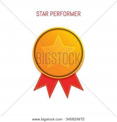 Star Performer Gold Medallion Honouring Award Poster