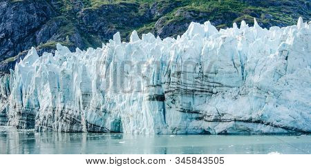 Margerie Glacier In Glacier Bay National Park And Preserve In Southeast Alaska Is 21 Miles Long With