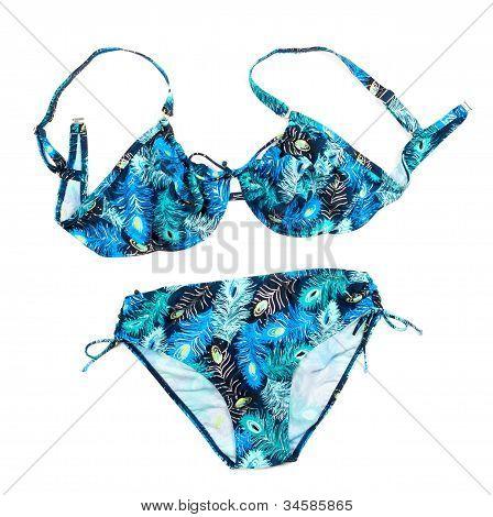 Flower Print Bikini.