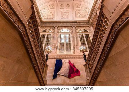 Constitutional Council, Interiors, Paris, France
