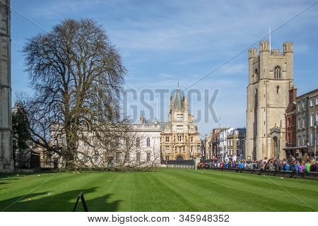 Cambridge, England / United Kingdom - 03 15 2014: Cambridge, England / United Kingdom - 03 15 2014: