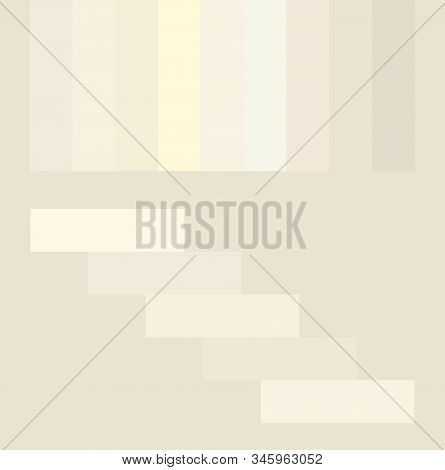 Conceptual Light Beige Milk Pastel Color Palette Set. Matching Color Ideas White, Cream, Gentle Tint