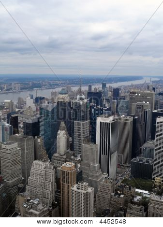 New York, View From The Empire.