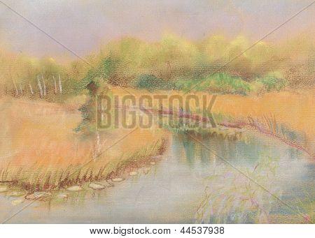 Small River ?black Dirt?