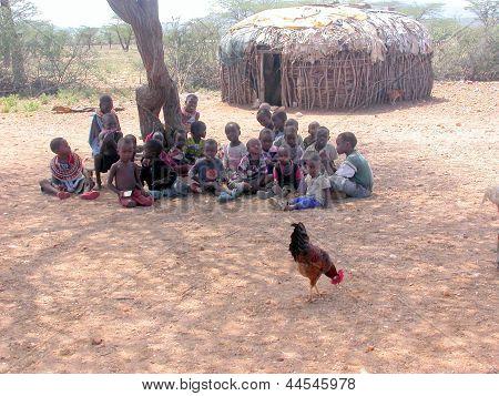 Children of a Samburu Village