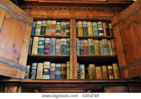 Medieval Bookshelf