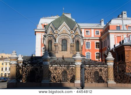 Chapel In Saint-petersburg