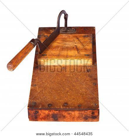 Antique Tobacco Leaves Chopper