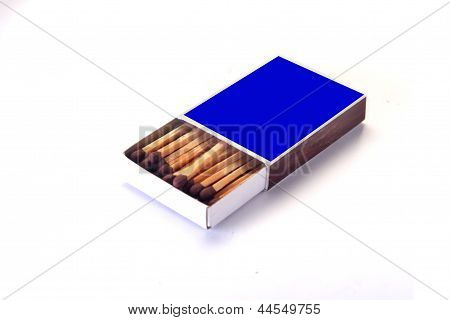 open box of matches