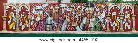 King Afonso Xi And His Son King Pedro I