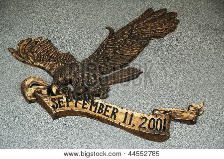 September 11 memorial in Brooklyn, NY.