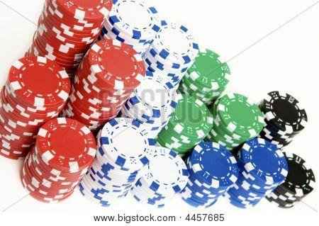 Pile Of Pokerchips