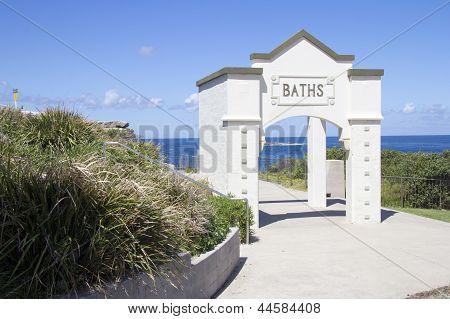 Baths Entrance, Coogee, Sydney