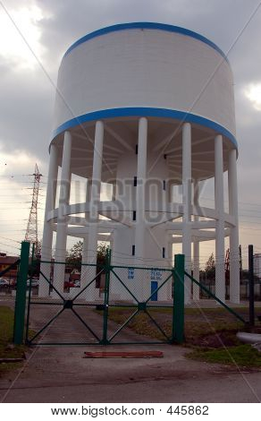 Elevated Concrete Water Tank