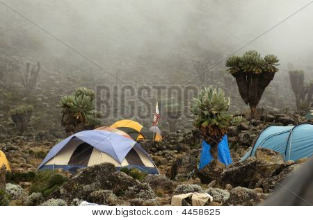 Barranco Camp On Machame Route