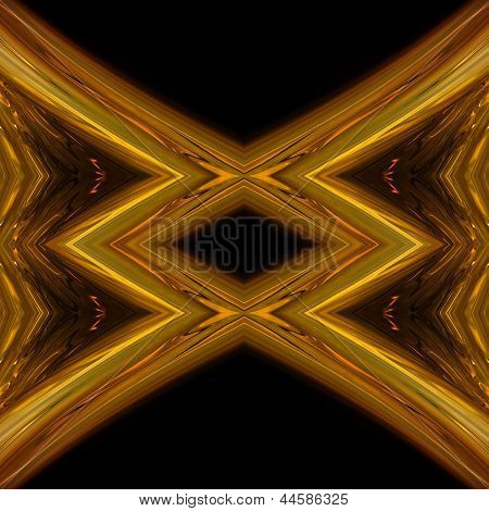 Fantastic abstract illustrated magical glass background object poster