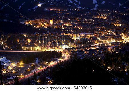 Breckenridge At Night