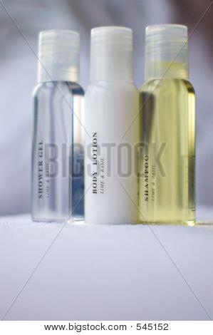 Shampoo Body Lotion