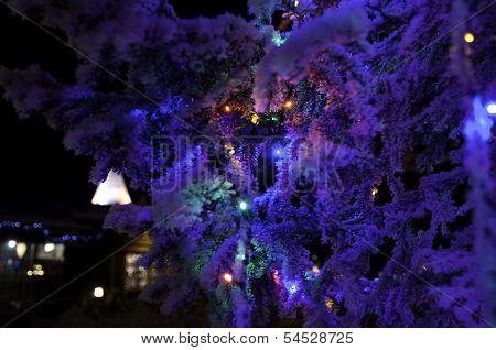 Christmas tree night decoration