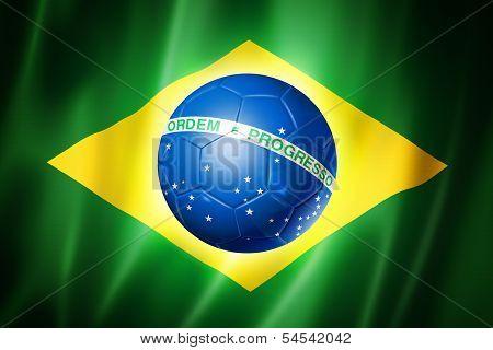 Brazil Soccer World Cup 2014 Flag