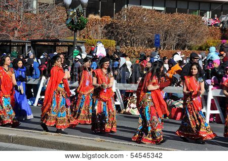 20th annual UBS Thanksgiving Parade Spectacular in Stamford, Connecticut