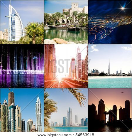 series of photos from Dubai. UAE