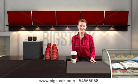 Working in a Coffeeshop
