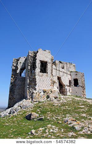 Castle ruin, Teba, Spain.