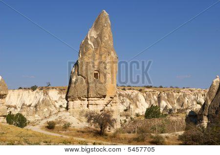 The View Of Cappadocia, Goreme, Turkey