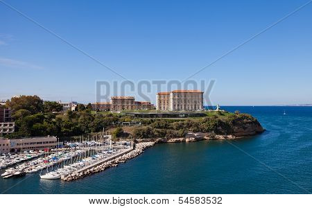 Palace Du Pharo (xix C.). Marseilles, France