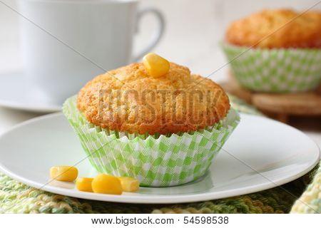Homemade Gluten-free Muffins From Corn Flour