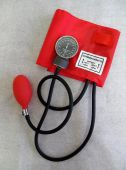 sphygmomanometer - an inflatable cuff used to measure blood pressure poster