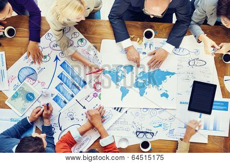 Global Finacial Business Meeting and Planning