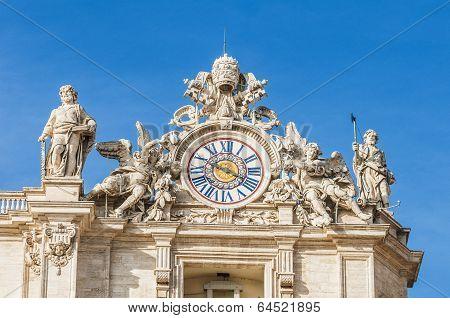 Vatican City In Rome, Italy