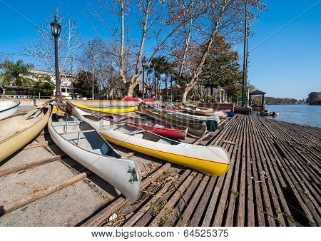 Tigre, A Town In The Delta Of The Rio De La Plata